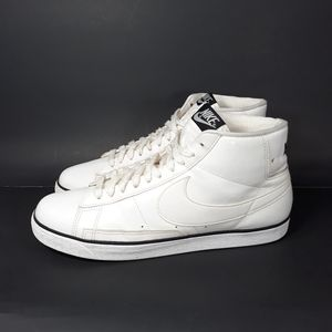 Nike Blazer High White  Sneakers Sz 12